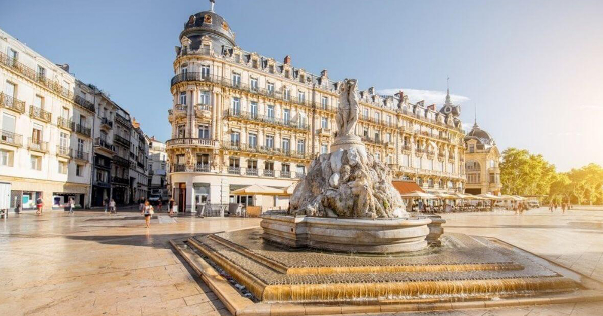 Departement 34 Montpellier Coeur Herault BGE formation Place de la comedie